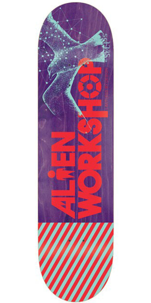 Alien Workshop Gull Cult Medium Skateboard Deck - Assorted - 8.25in