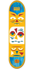 Alien Workshop Manic Daze Large Skateboard Deck - Orange - 8.5in