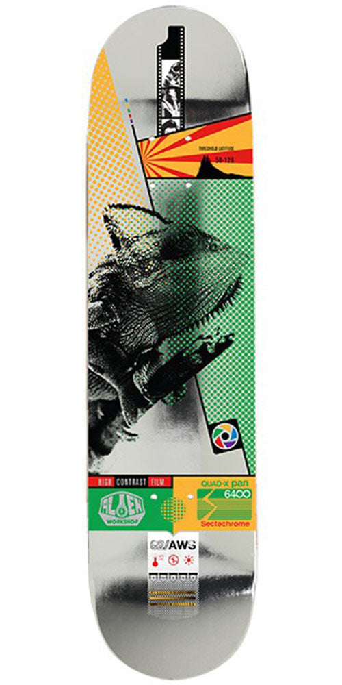 Alien Workshop Sectachrome Chamelion Skateboard Deck - Multi - 8.375in