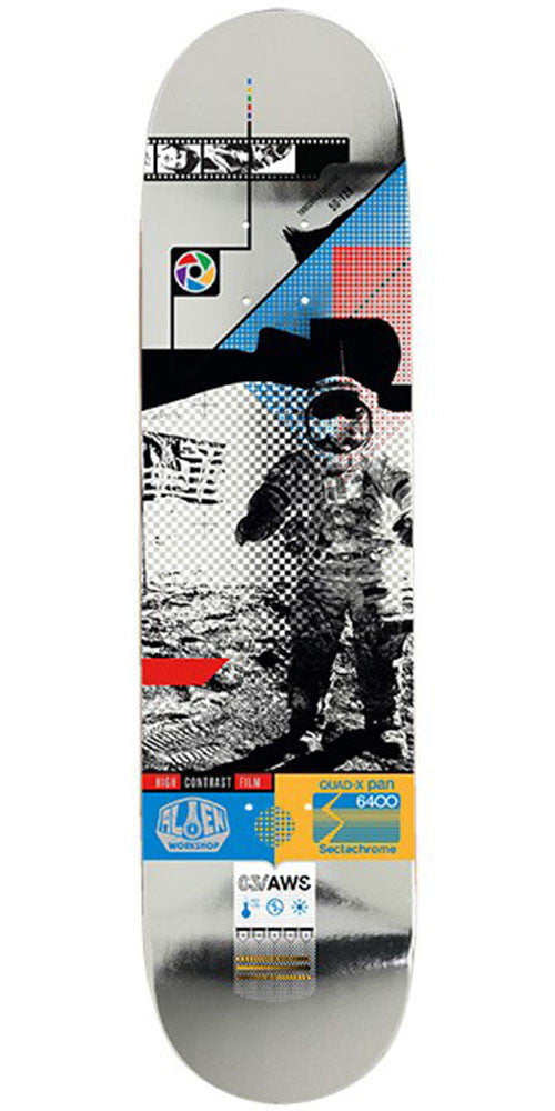 Alien Workshop Sectachrome Moonwalk Skateboard Deck - Multi - 8.125in