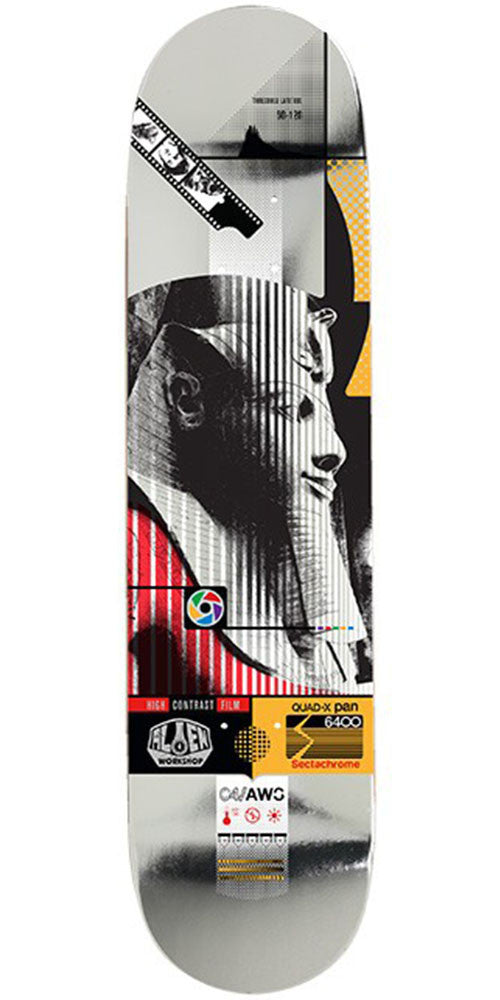 Alien Workshop Sectachrome Pharoah Skateboard Deck - Multi - 8.5in