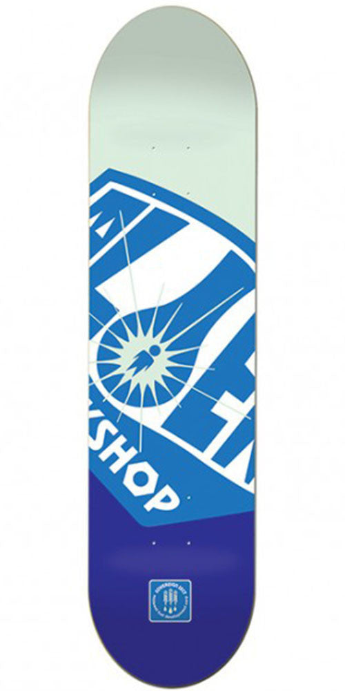 Alien Workshop OG Fuel Co. Small Skateboard Deck - Blue - 8.0in