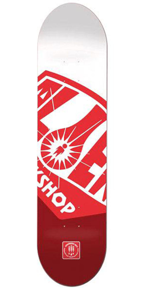 Alien Workshop OG Fuel Co. Medium Skateboard Deck - Red - 8.25in
