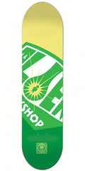 Alien Workshop OG Fuel Co. Large Skateboard Deck - Green - 8.5in