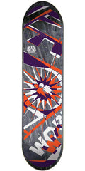 Alien Workshop Glyph Large Skateboard Deck - Black - 8.25in