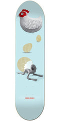 Alien Workshop Born Again Large Skateboard Deck - Blue - 8.25in