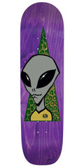 Alien Workshop Visitor Square Tail Skateboard Deck - Purple - 8.625in