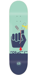 Alien Workshop Forget It Skateboard Deck - Aqua/Navy - 8.25in