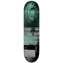 Alien Workshop Give Me Fire Small Skateboard Deck - Aqua/Black - 8.0in