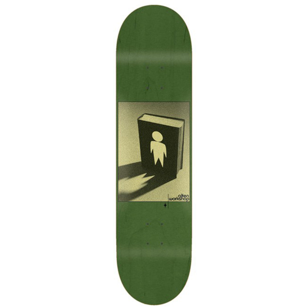 Alien Workshop Good Book Skateboard Deck - Green - 8.375in