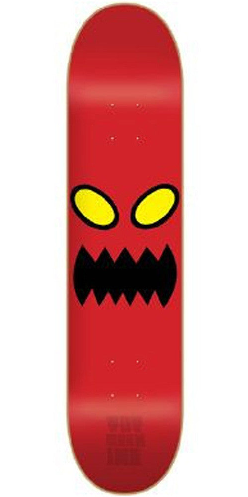 Toy Machine Monster Face PP Skateboard Deck 8.0 - Red