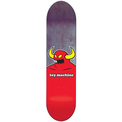 Toy Machine Monster Fiberprime Skateboard Deck 8.125 - Red/Purple