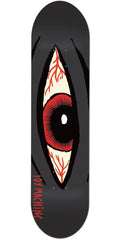 Toy Machine Bloodshot Skateboard Deck - Black - 8.75