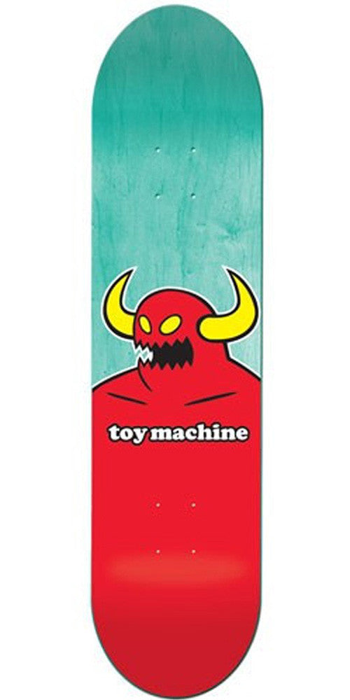 Toy Machine Monster X-Large Skateboard Deck 8.5 - Red/Assorted