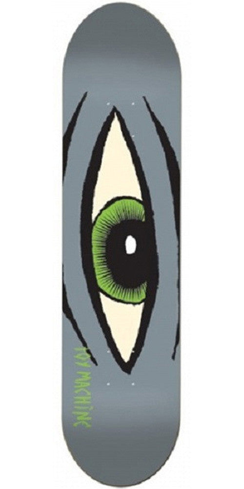 Toy Machine Sect Eye Skateboard Deck 7.875 - Grey