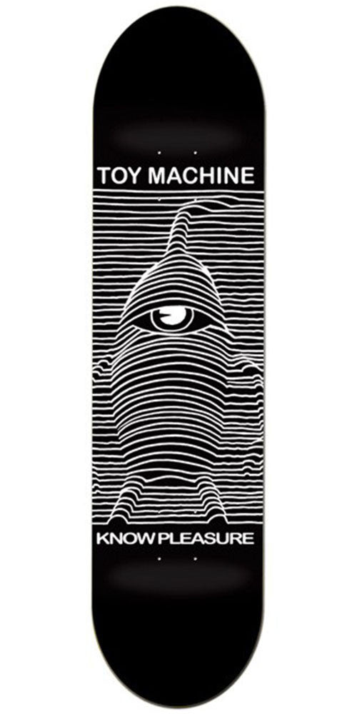 Toy Machine Toy Division Skateboard Deck - Black - 8.0in