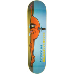 Toy Machine Blake Back Stab Skateboard Deck - Blue - 8.125