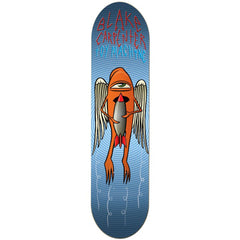 Toy Machine Blake Bombs Away Skateboard Deck - Blue - 8.375
