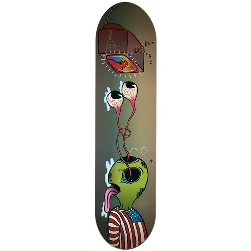 Toy Machine Romero Buggin Out Skateboard Deck - Multi - 8.25