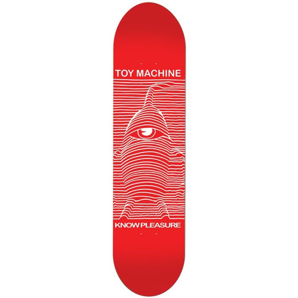 Toy Machine Toy Division Skateboard Deck - Red - 8.25