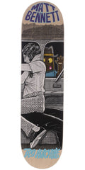 Toy Machine Bennett Peeping Toy Skateboard Deck - Multi - 8.0in x 31.375in
