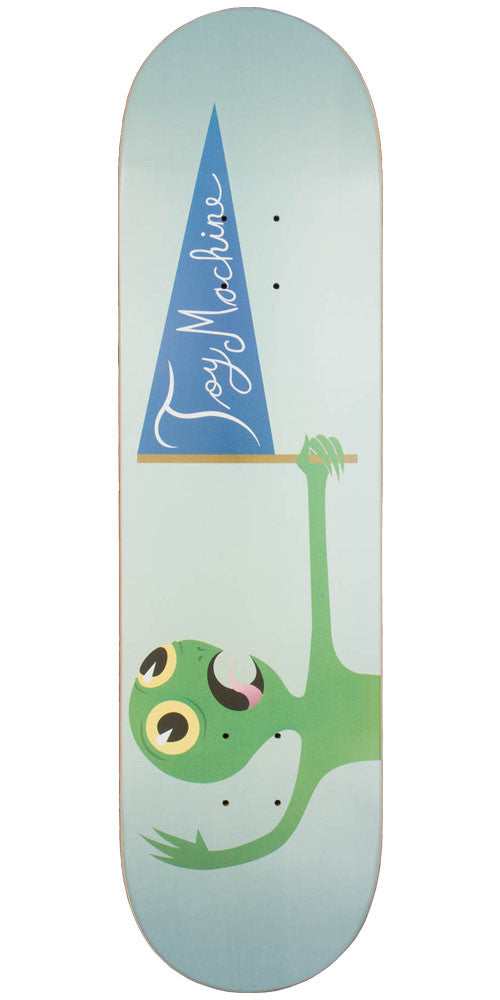 Toy Machine Pendant Skateboard Deck - Teal - 8.25in x 31.5in