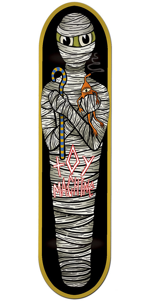 Toy Machine Mummy Skateboard Deck - Multi - 8.0in x 32.0in