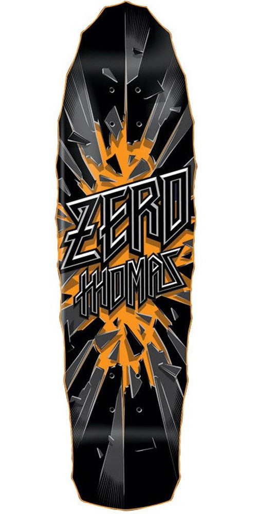 Zero Thomas Breakout Mini Old School Skateboard Deck - Black - 7.5in