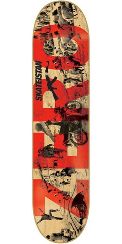 Zero Skateistan Army Skateboard Deck - Assorted - 8.0