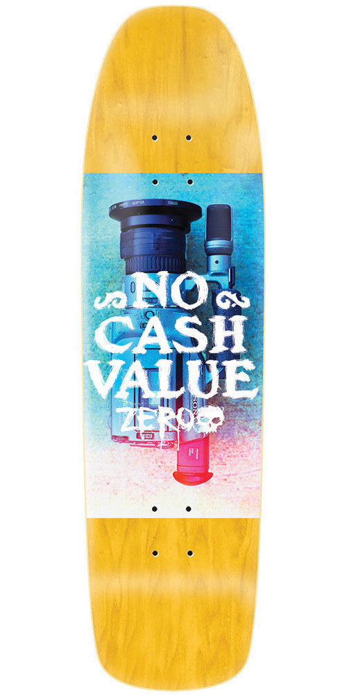 Zero No Cash Value Cruiser Skateboard Deck - Blue/Red - 7.7