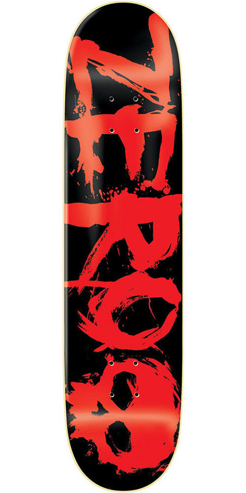 Zero Blood Red R7 Skateboard Deck - Black/Red - 7.0
