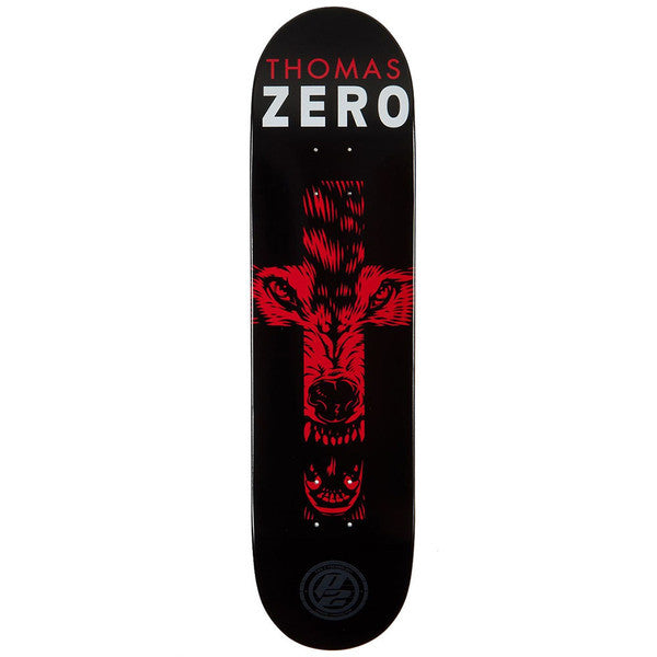 Zero Thomas Symbolism P2 Skateboard Deck - Black/Red - 8.38
