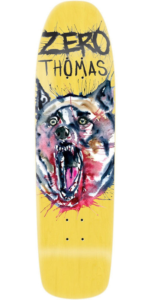 Zero Jamie Thomas Wolfsblood R7 Skateboard Deck - Yellow - 8.5