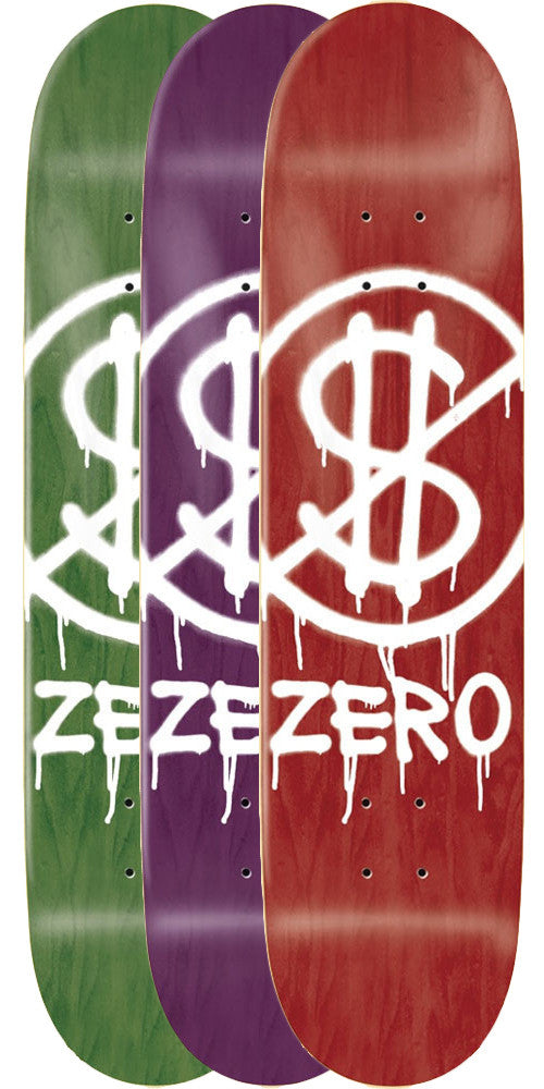 Zero Hardluck SL Skateboard Deck - Assorted - 8.25