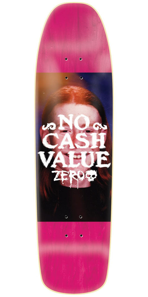 Zero No Cash Value Cruiser Skateboard Deck - Assorted - 8.5in