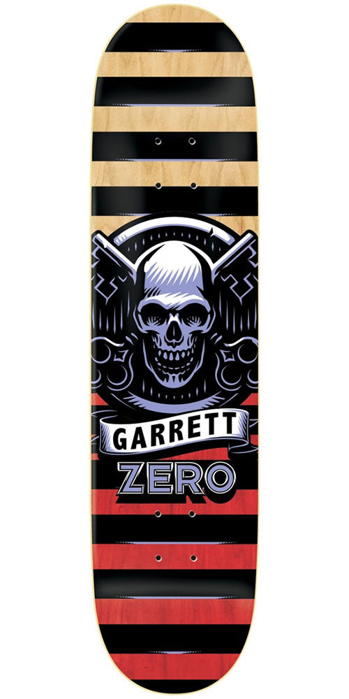 Zero Garrett Hill Icon Series IL Skateboard Deck - Multi - 8.375in