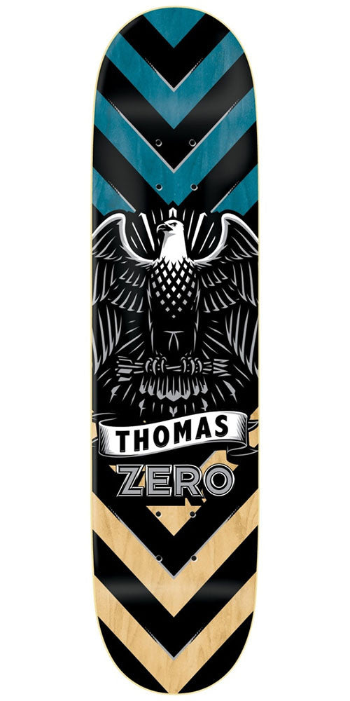 Zero Jamie Thomas Icon Series IL Skateboard Deck - Multi - 8.25in