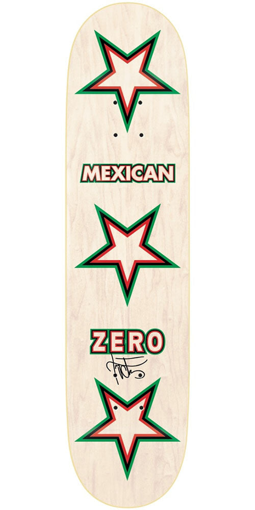 Zero Tony Cervantes Mexican Zero R7 Skateboard Deck - Multi - 8.25in