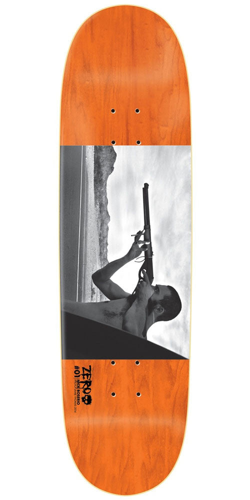 Zero Nick Boserio Brass Photo Issue R7 Skateboard Deck - Orange - 8.625in