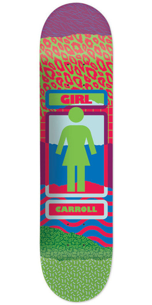 Girl Carroll Ripped OG Skateboard Deck - Multi - 8.125in x 31.625in
