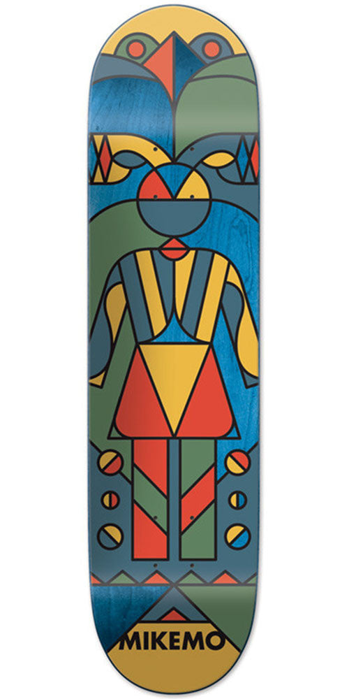 Girl Mike Mo Totem Skateboard Deck - Multi - 8.0in x 31.875in