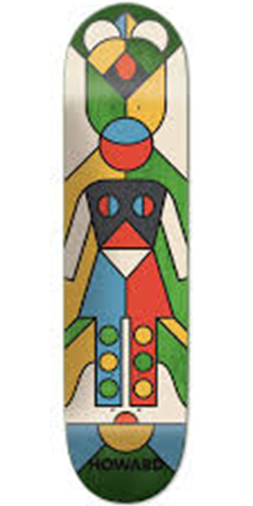 Girl Howard Totem Skateboard Deck - Multi - 8.25in x 31.625in