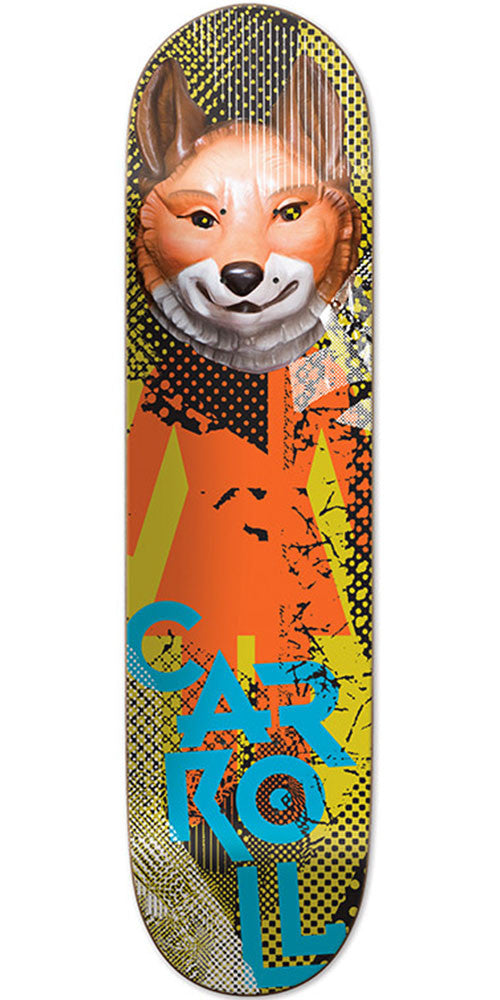 Girl Carroll Candy Flip Skateboard Deck - Multi - 8.0in x 31.875in