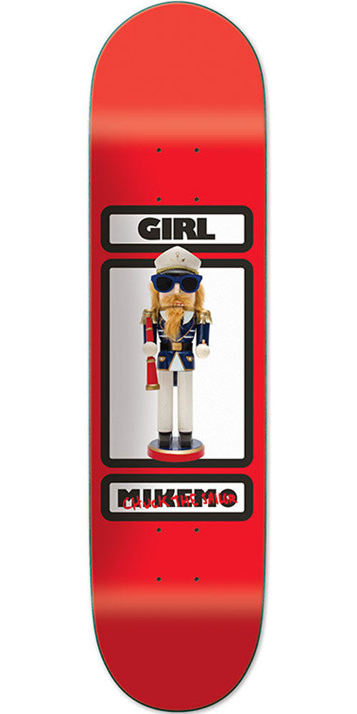 Girl Mike Mo One Off Skateboard Deck - Red - 8.0in x 31.875in