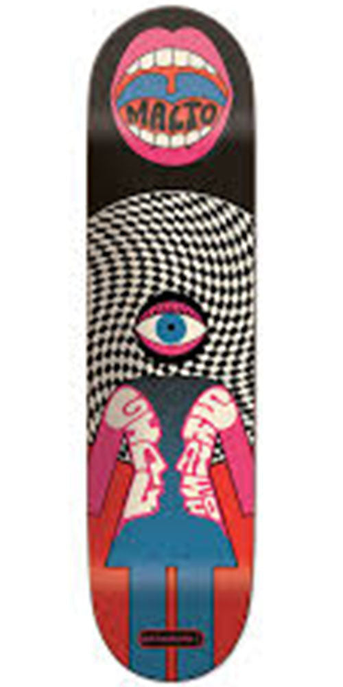 Girl Malto Fillmore Skateboard Deck - Multi - 8.125in x 31.625in