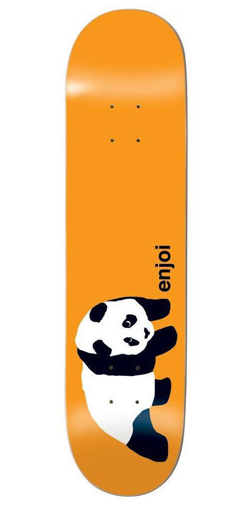 Enjoi Original Panda R7 Skateboard Deck 8.0 - Orange