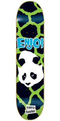 Enjoi Cairo Foster Punk Doesn't Fit Impact Skateboard Deck 8.1 - Green/Black