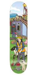 Enjoi Caswell Berry Carnival R7 Skateboard Deck - 8.0 - Multi