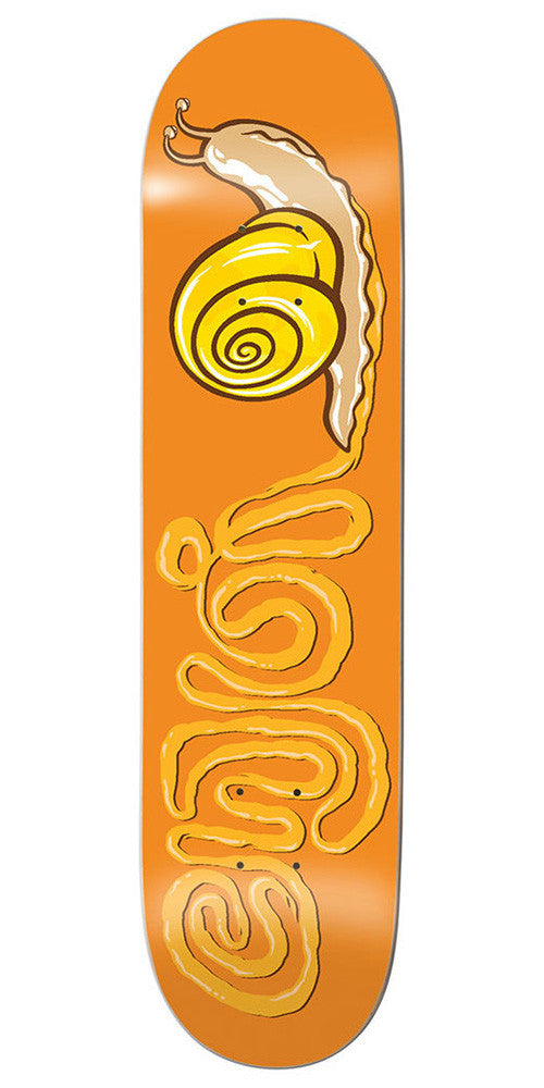 Enjoi Snail R7 Skateboard Deck - 8.25 - Orange