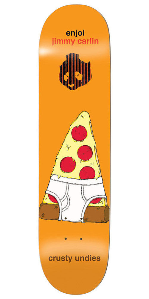 Enjoi Jimmy Carlin Crusty Undies Impact Skateboard Deck - Orange - 7.75